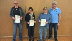 Verleihung der Ehrennadeln des TV Rübenach