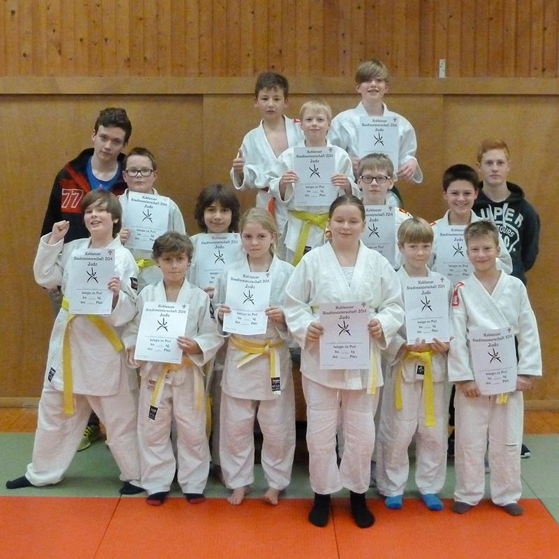 Gruppenfoto_Judo_Stadtmeister-2014