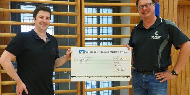 TVR erhielt Spende von der Firma Volker Kürsten