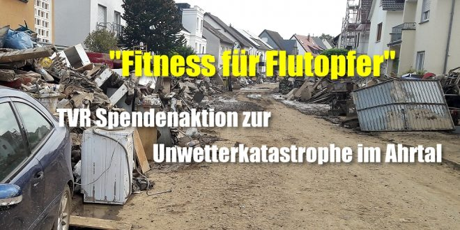 """""""Fitness für Flutopfer"""""""